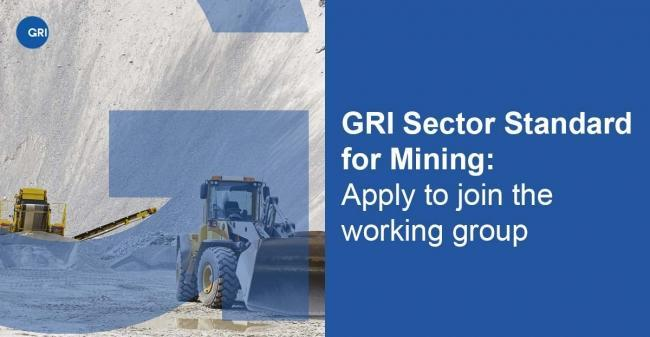 A sustainability reporting standard for mining organizations